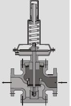 Downstream Pressure Regulators DB Series | Nirmal